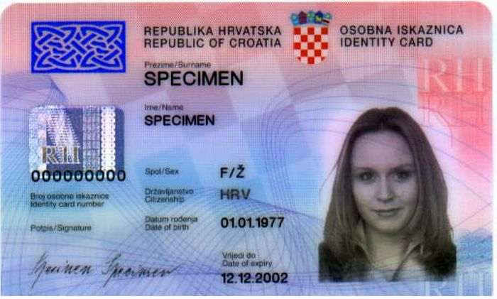 Which Countries Can You Travel To With A Croatian Id Card  Croatia