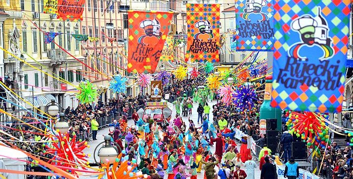 [VIDEO] 10,000 Parade in Rijeka at Croatia's Biggest Carnival
