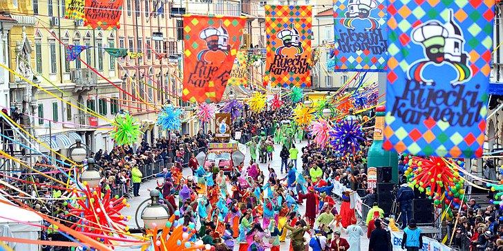[VIDEO] 10,000 Parade in Rijeka at Croatia's Biggest Carnival