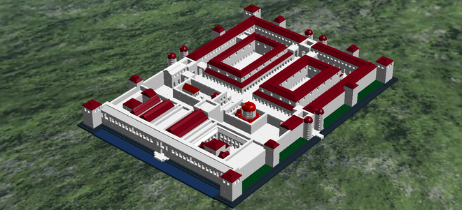 Hopes for Diocletian's Palace in Split to Become Official LEGO Product