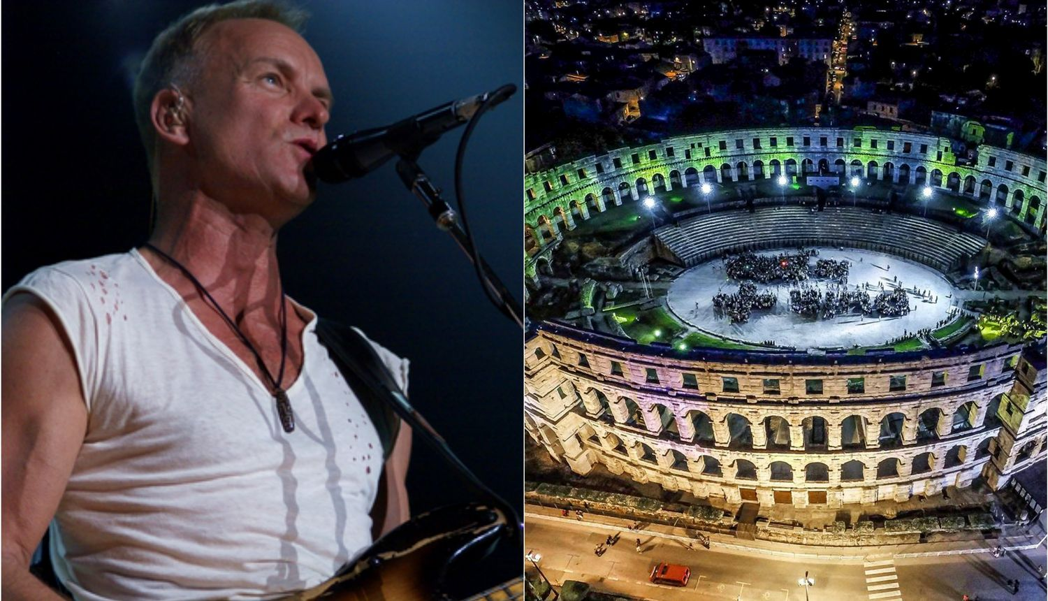 Sting's Son to Join Him for Croatia Concert