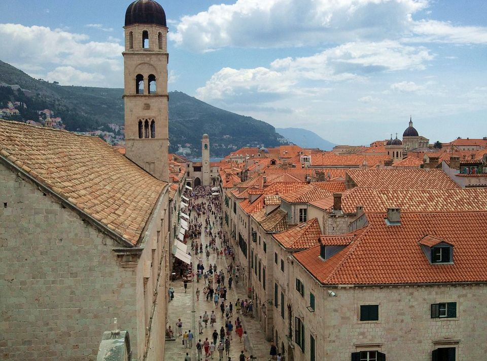 Croatia's Stradun Makes The Telegraph's '25 Incredible Must Visit Streets Before you Die'
