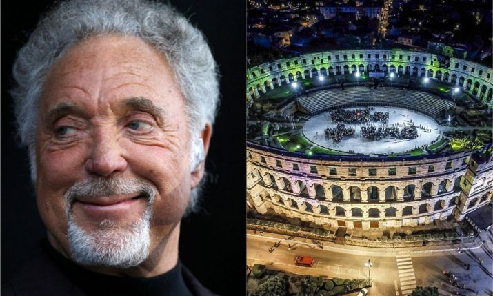 Legendary Tom Jones to Play Pula Arena this Summer