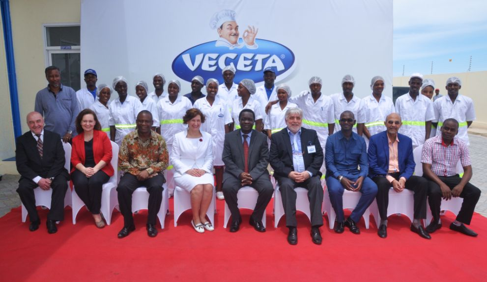 Vegeta Producers Podravka Open Factory in Africa