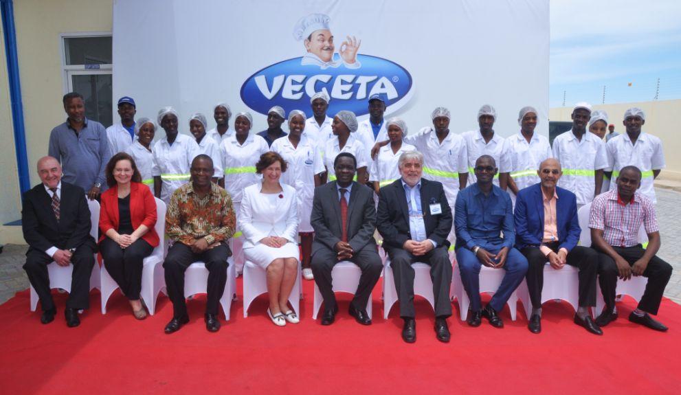 Vegeta Producers Podravka Open Factory in Africa