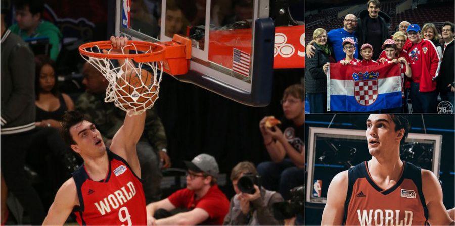 [VIDEO] Dario Šarić Proud to Represent Croatia at NBA All-Star Weekend