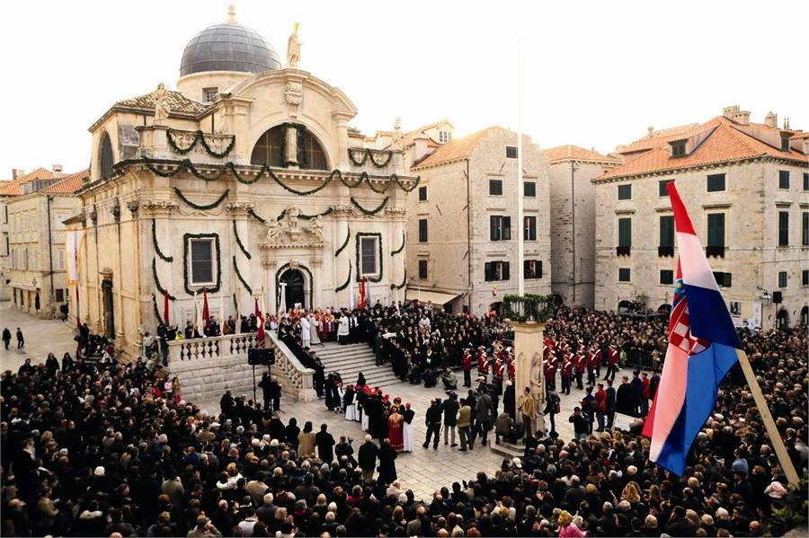 Dubrovnik Celebrates 1,045th Anniversary of its Patron Saint