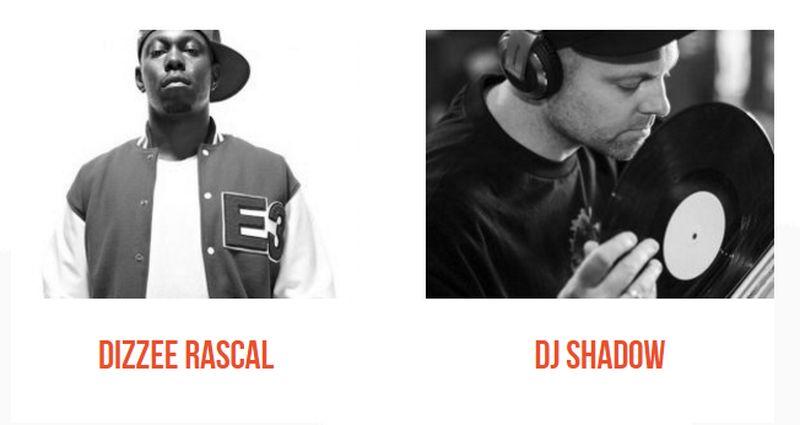 Dizzee Rascal & DJ Shadow to Headline Outlook in Croatia