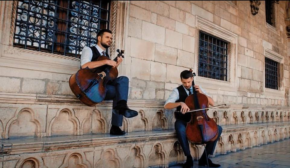Watch 2CELLOS Playing Breakfast at Tiffany's Theme 'Moon River' in Dubrovnik