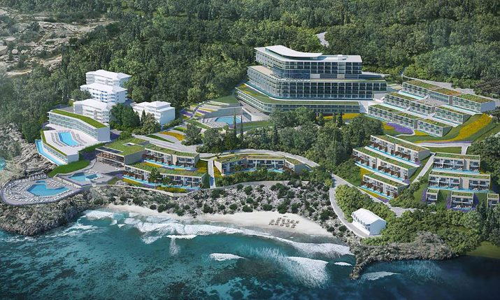 [PHOTOS] New 5-Star Resort Complex for Dubrovnik