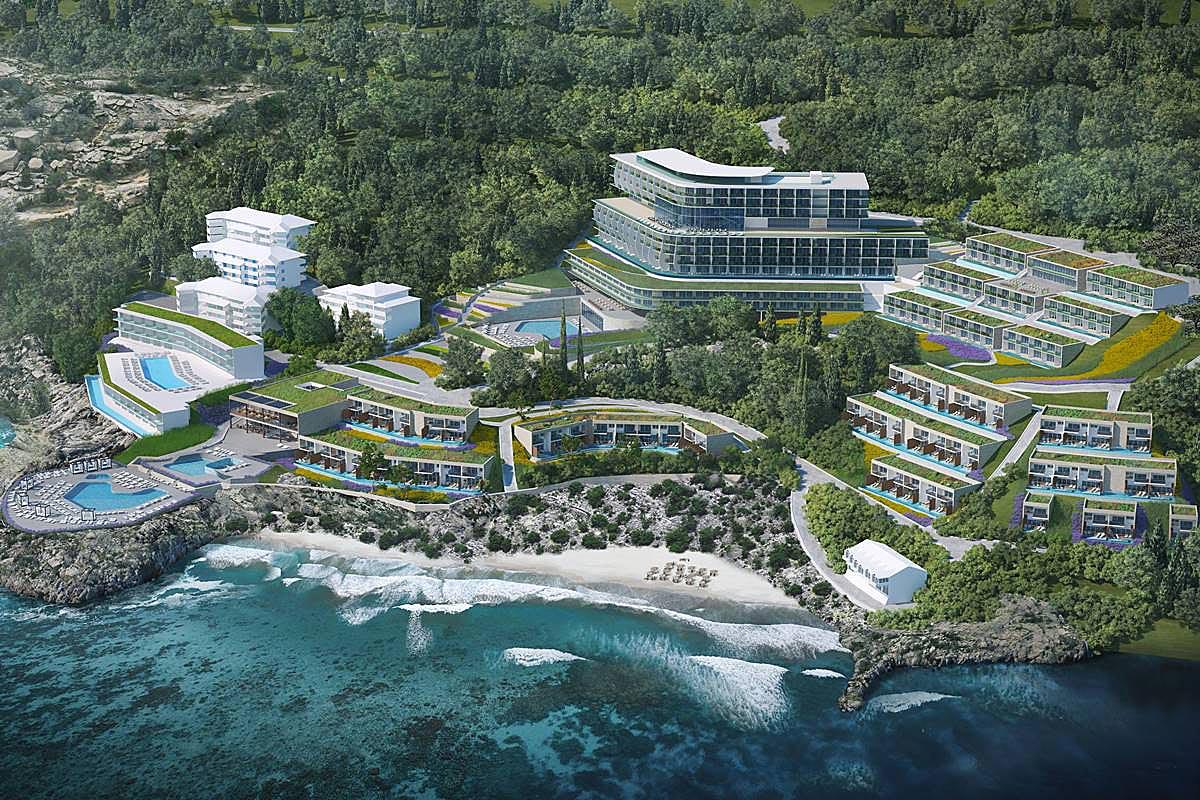 [PHOTOS] New 5-Star Resort Complex for Dubrovnik
