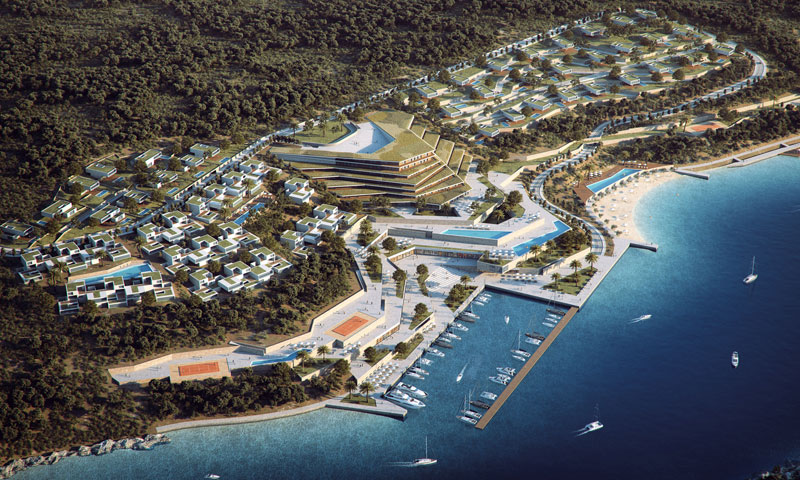 [PHOTO] 5-Star Resort Project on Island of Brač