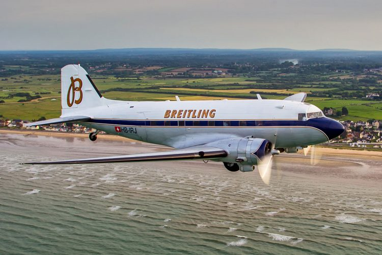Zagreb First Stop on Breitling DC-3 World Tour
