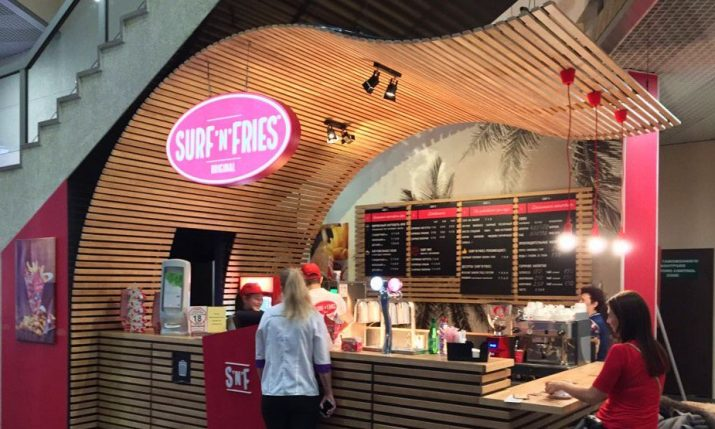 Croatian Franchise Surf'n'Fries Opens Stores at International Airport in Moscow