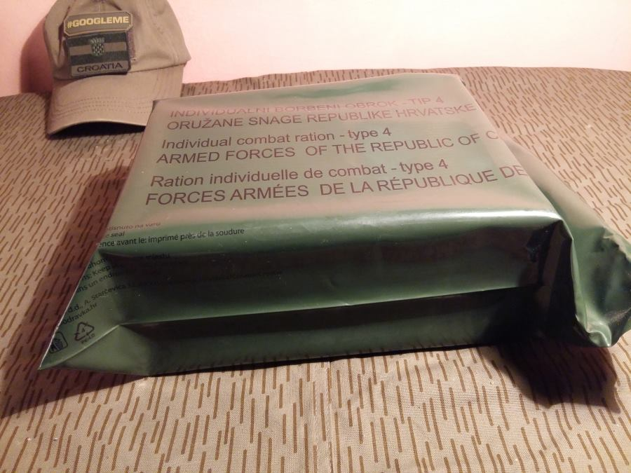 What Food is in a Croatian Military Ration Pack?