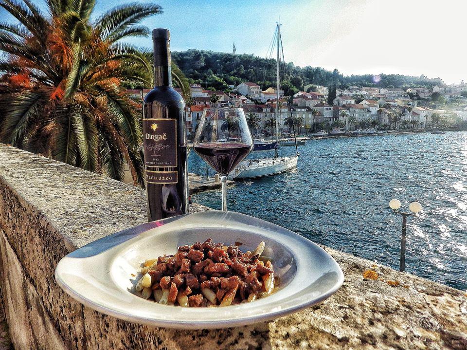 Chakula: The First Homemade Macaroni & Wine House on Korčula