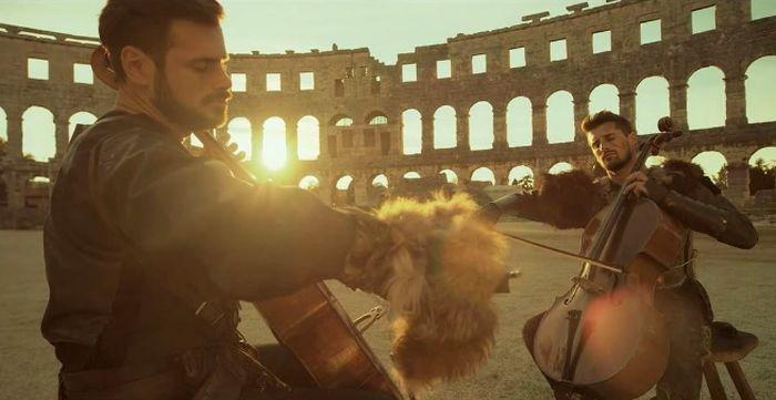 [VIDEO] 2CELLOS Release New Album & Video – Gladiator Theme