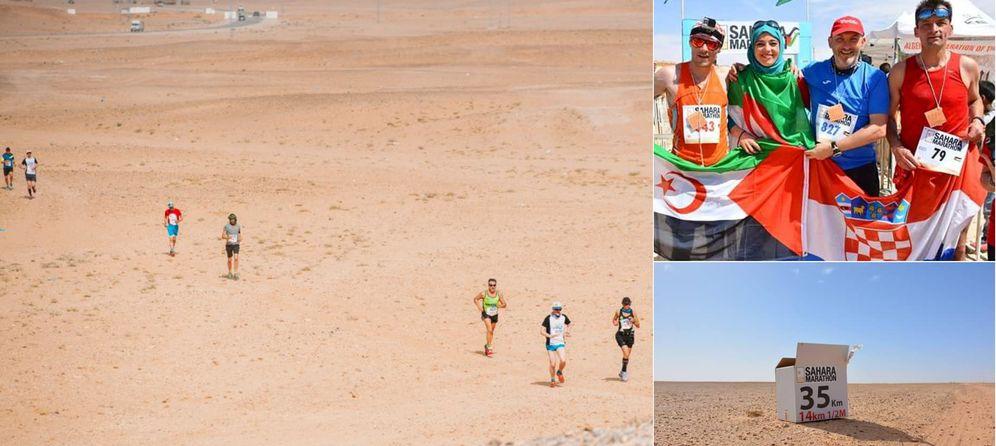 Three Croatians Complete Sahara Marathon for Humanitarian Cause