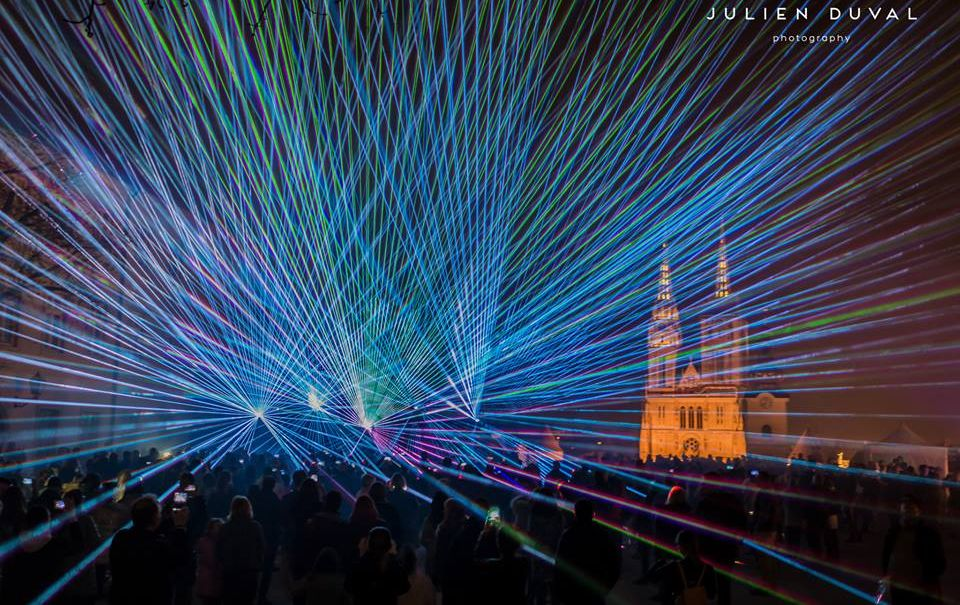 [VIDEO] Zagreb's Festival of Lights Opens