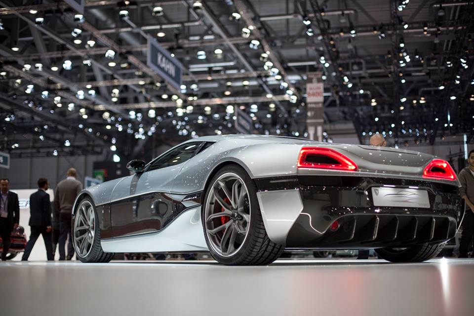 Rimac's New Improved Electric Hypercar at Europe's Biggest Motor Show in Geneva
