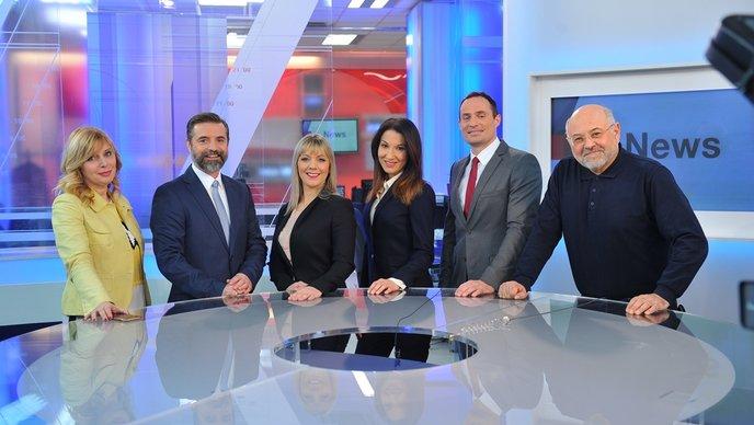 Evening News in English Starts on Croatian TV