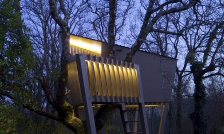 Croatian Architect Creates Dream Treehouse for Friend