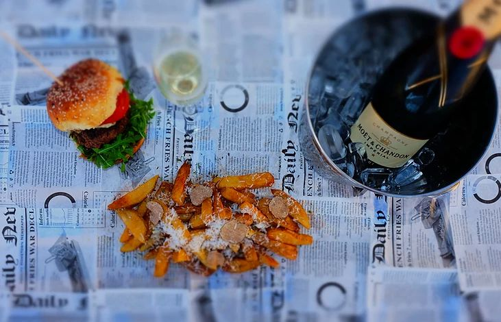 New Burger & Champagne Bar to Open in Downtown Zagreb