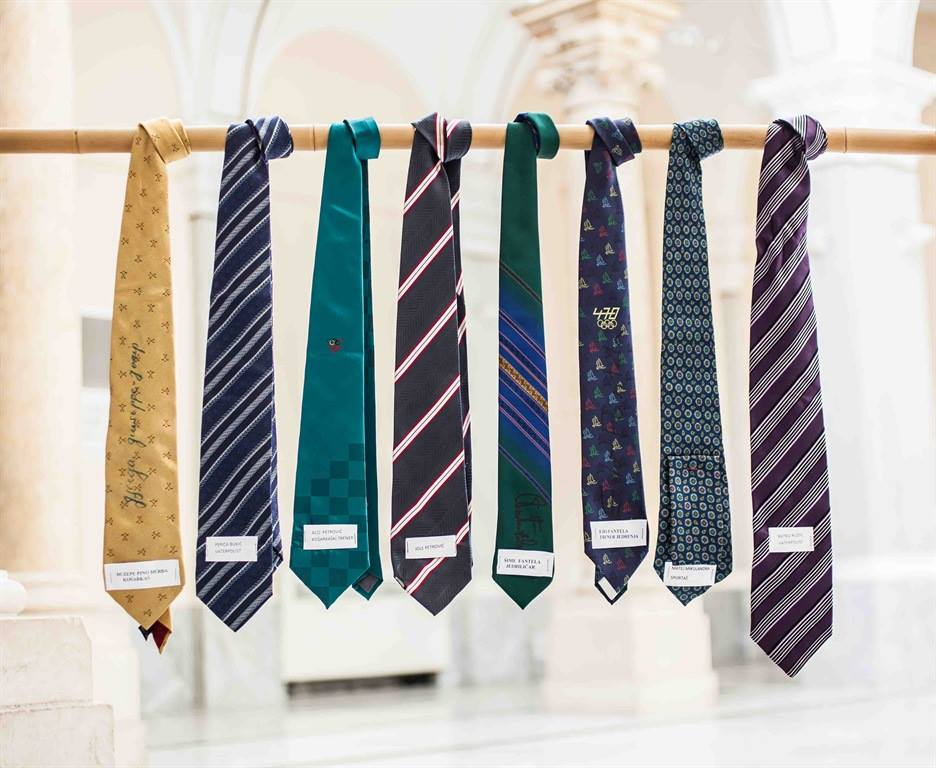 950 Ties for 950 Years of Šibenik Exhibited