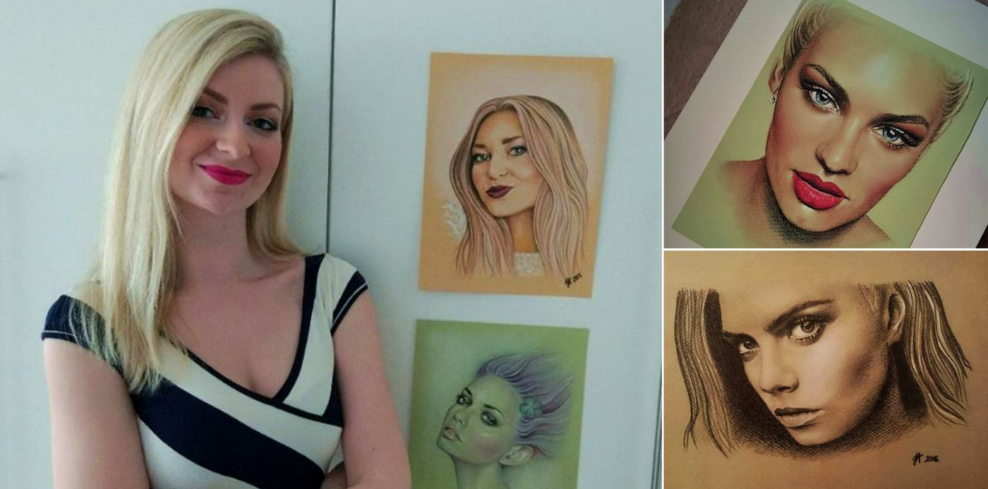 Talented Croatian Hobby Artist's Stunning Portraits