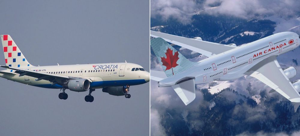 Air Canada Expands Croatia Airlines Codeshare Routes