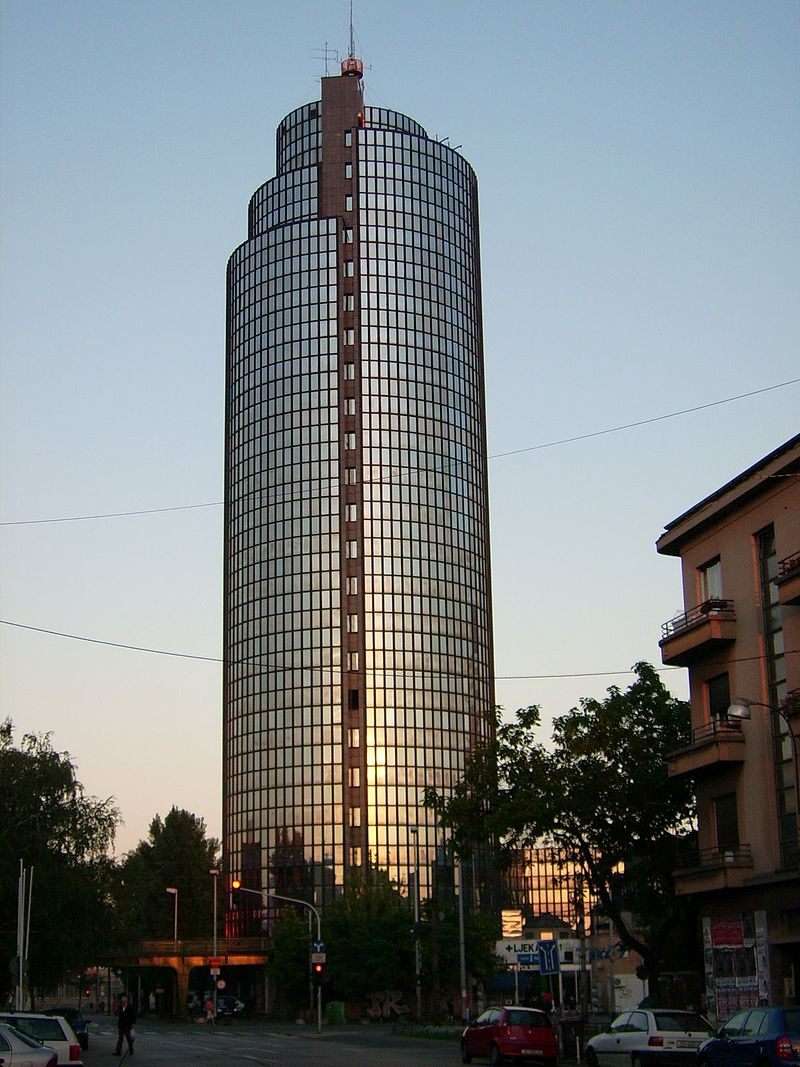 The 10 Tallest Buildings In Croatia Croatia Week