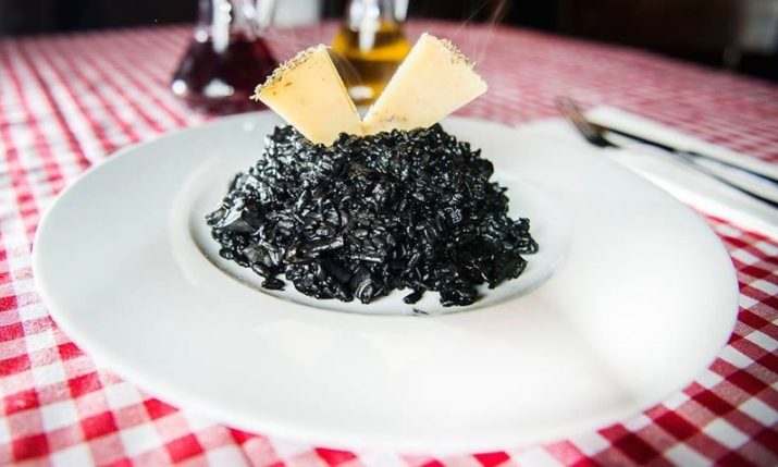 Croatian Recipes: Crni Rižot