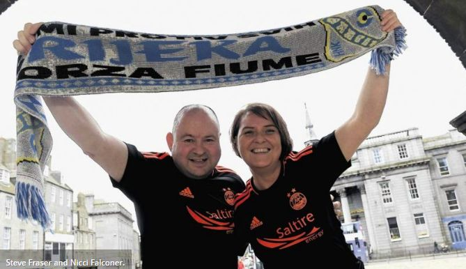 Scottish Fans Blown Away by Croatian Hospitality