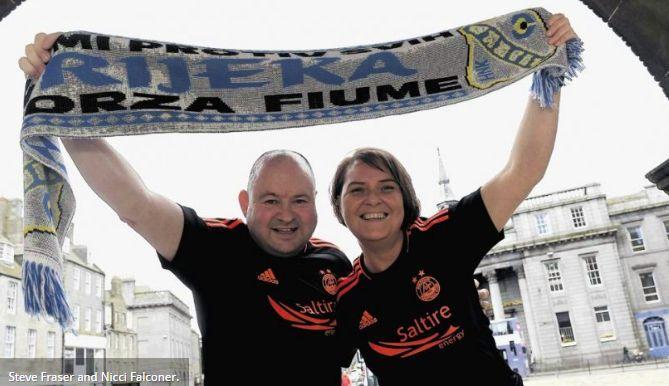 Scottish Fans Blown Away by Croatian Hospitality