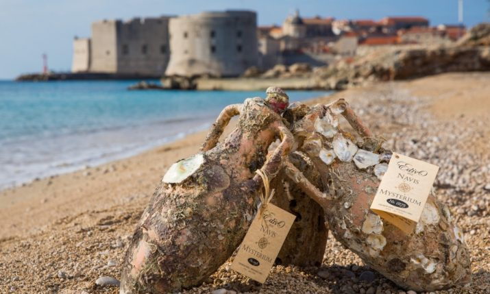 Wine from Croatia's First Underwater Winery an International Hit