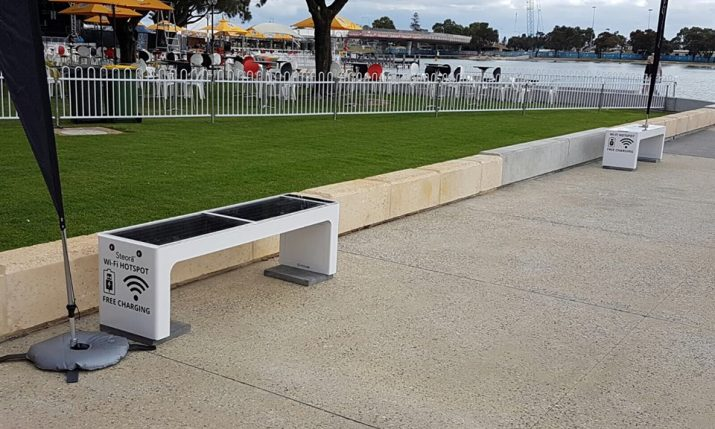 Plan for 30 Croatian Smart Benches in Australia by End of 2017