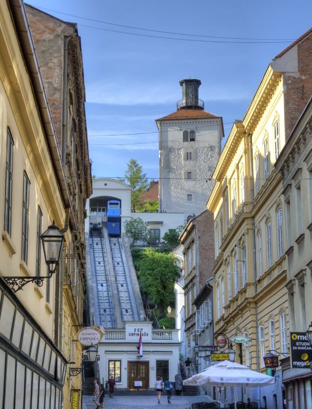 Zagreb S Famous Funicular 124 Years Old Today Croatia Week
