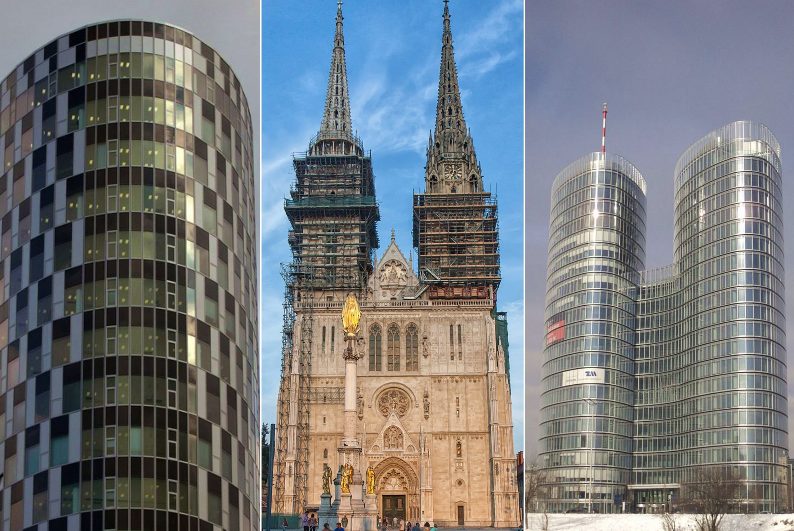 The 10 Tallest Buildings in Croatia