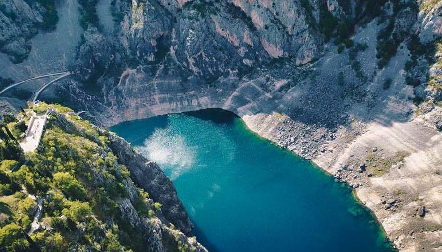 [VIDEO] Imotski's Amazing Blue & Red Lakes