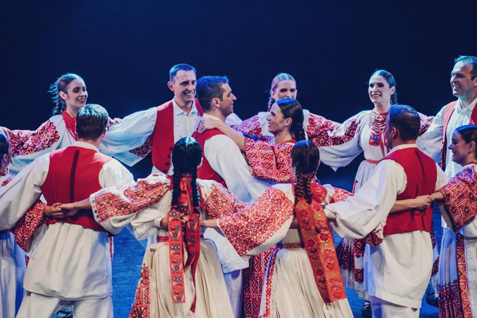 National Folk Dance Ensemble of Croatia 'LADO' in 360 Degree Video for First Time