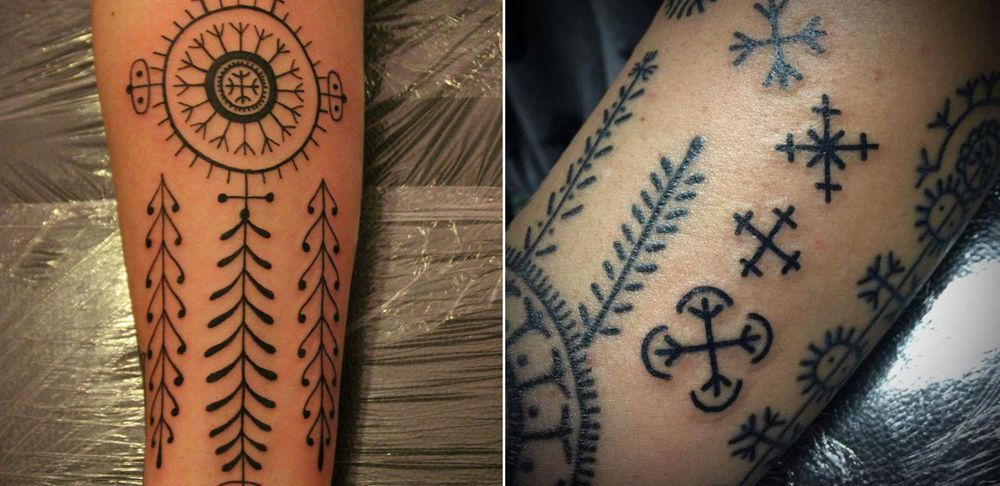 Traditional Croatian Tattoos Croatia Week