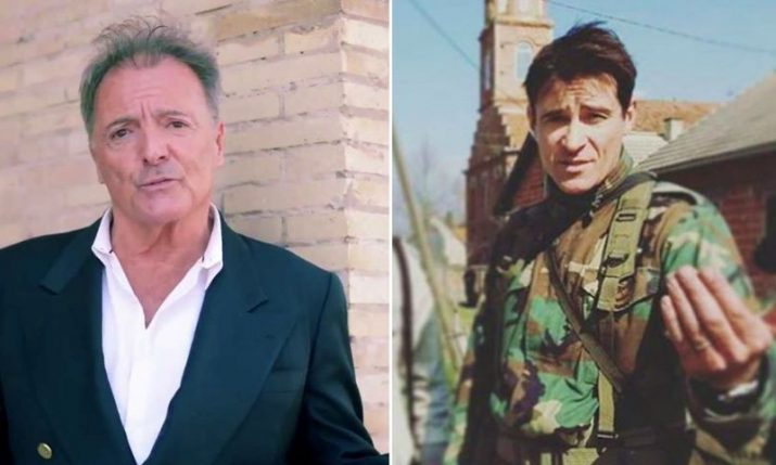 Actor Armand Assante in Split Shooting Scenes for Ante Gotovina Film