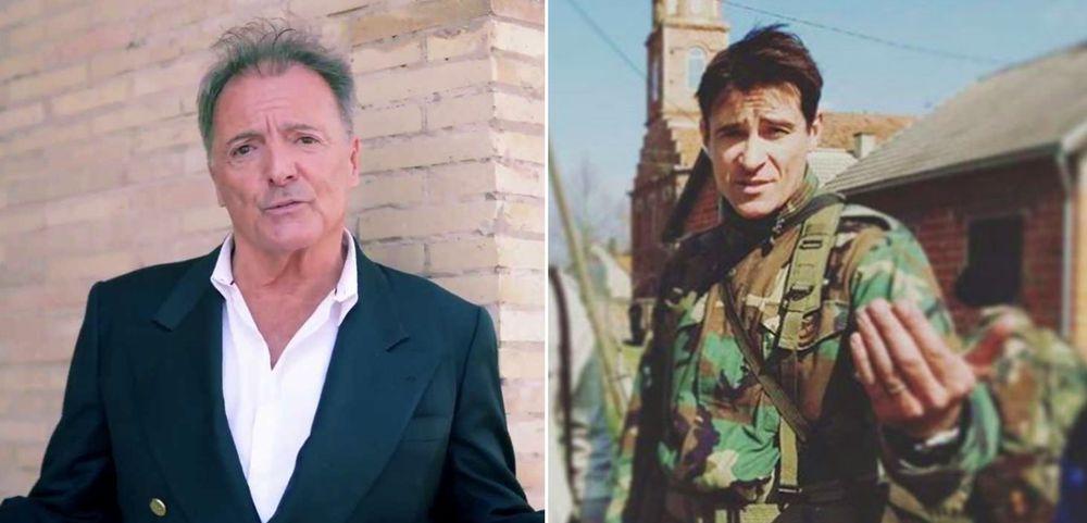 Actor Armand Assante in Split Shooting Scenes for Ante Gotovina Film