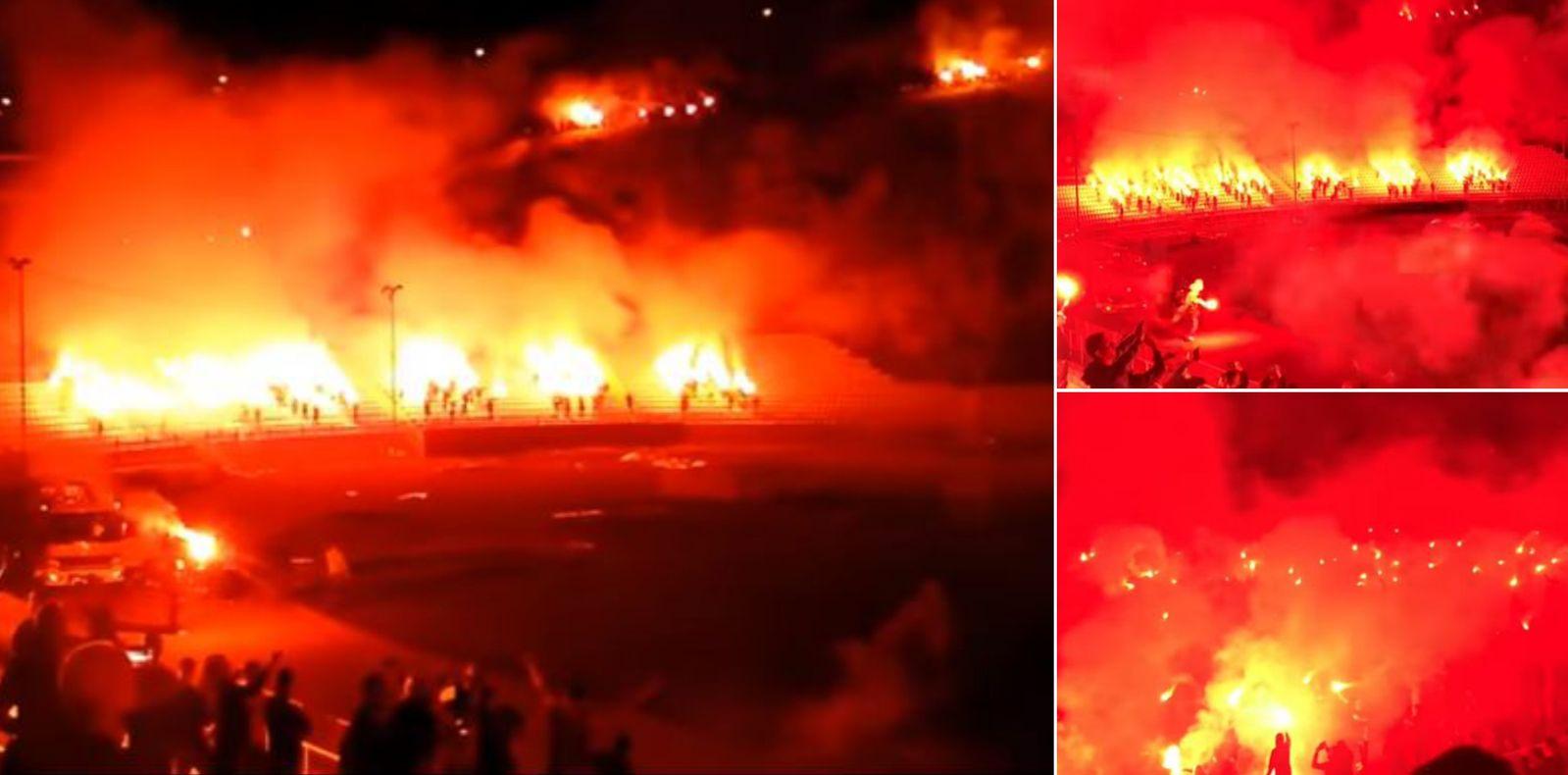 [VIDEO] Rijeka's Ultras Armada Celebrate 30th Birthday in True Croatian Style