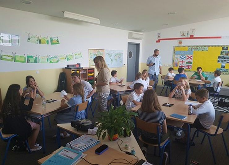 First Schools Bridge Match Played in Croatia