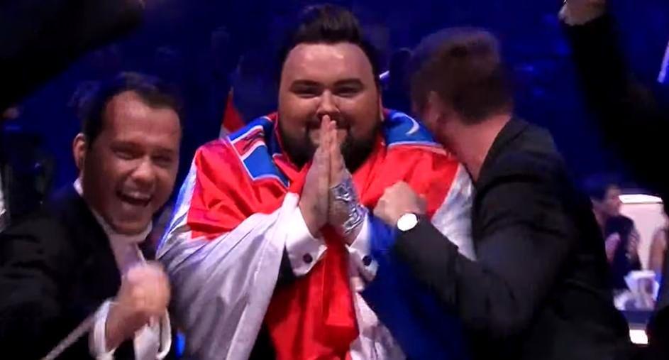 [VIDEO] Croatia Makes 2017 Eurovision Song Contest Final