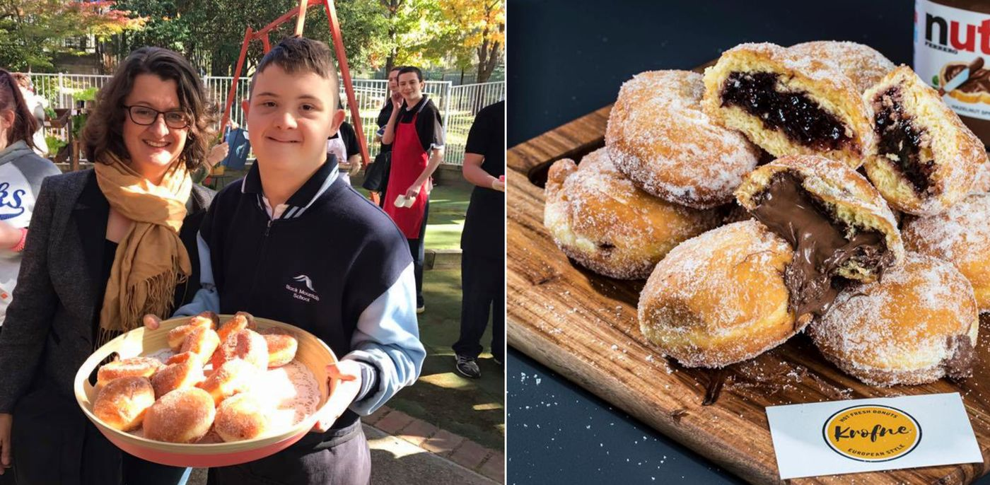 [VIDEO] Croatian-Style Donut Business in Australia Touches Hearts with Job Opportunities for Youngsters with Special Needs
