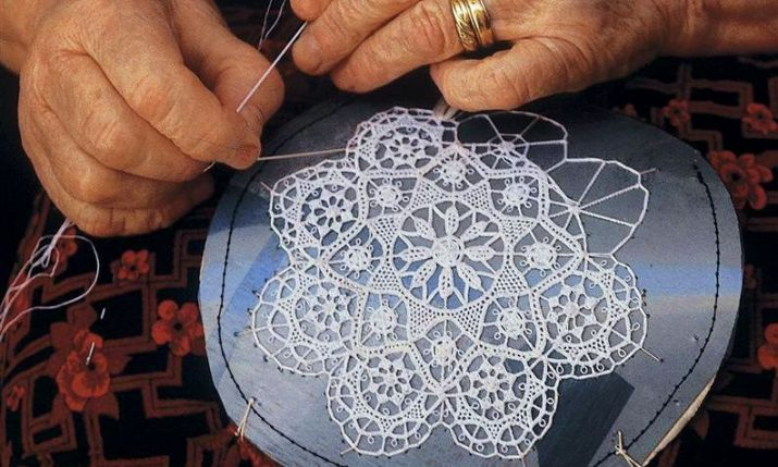 International Lace Festival on Pag Island in June