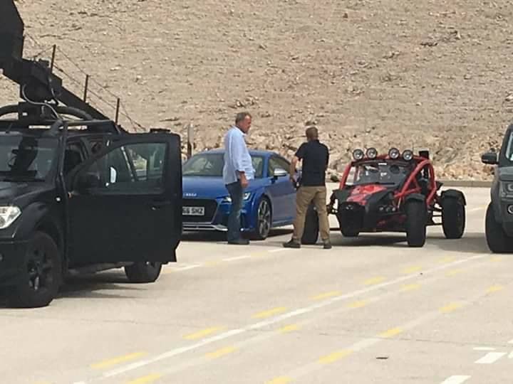 Jeremy Clarkson & The Grand Tour Filming on Island of Pag