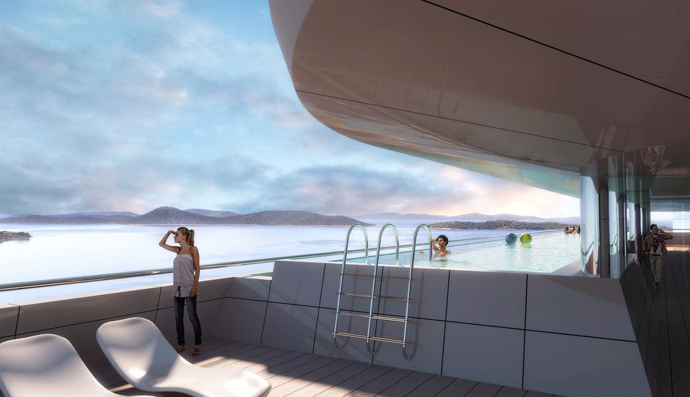 New luxury modern hotel to open on dalmatian coast in june for Sky design hotel